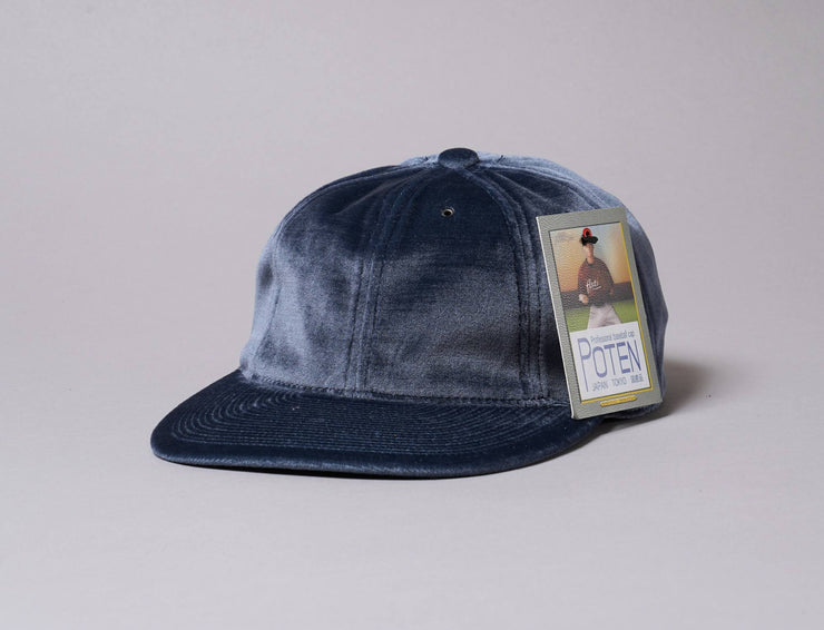 Cap Adjustable Poten Velour Cap Blue Poten Adjustable Cap / Blue / One Size