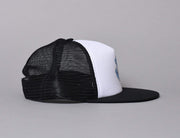 Cap Trucker Santa Cruz Classic Hand Mesh Cap White/Black Santa Cruz Trucker Cap / Black / One Size