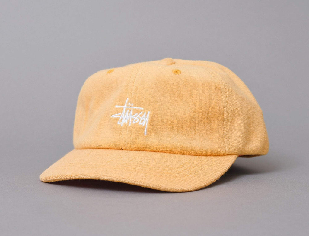 Stussy Stock Terry Cloth Low Pro Cap Orange