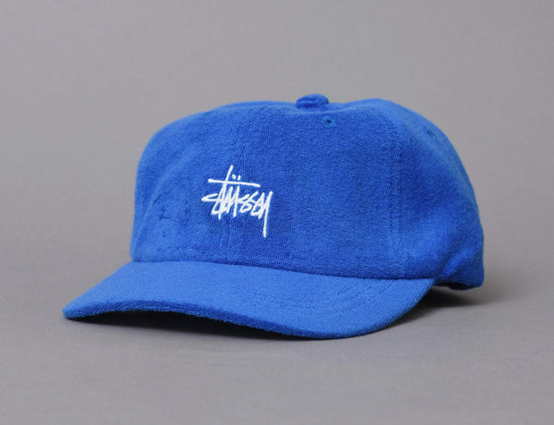 Stussy Stock Terry Cloth Low Pro Cap Royal
