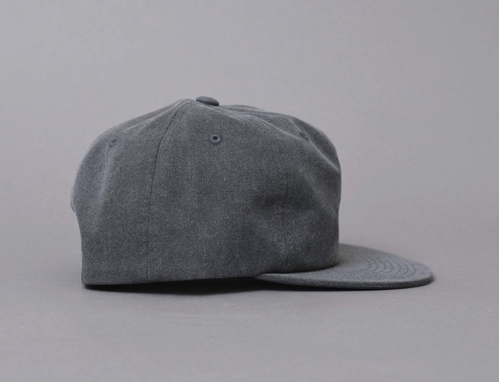 Stussy Washed Oxford Canvas Cap Black