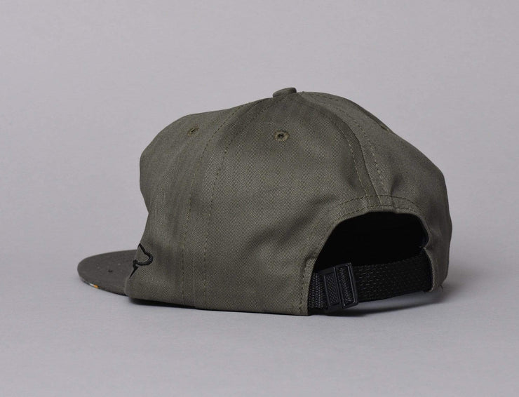 Cap Adjustable The Ampal Creative More Parks II Olive The Ampal Creative Adjustable Cap / Green / One Size