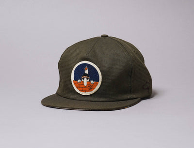 Cap Adjustable The Ampal Creative Nature Was Here Strapback Olive The Ampal Creative Adjustable Cap / Green / One Size