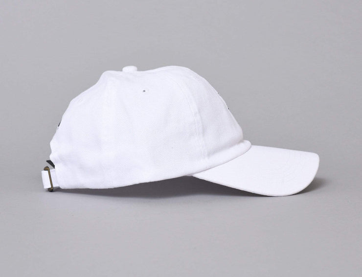 The Hundreds Death Row Executioner Strapback Cap White
