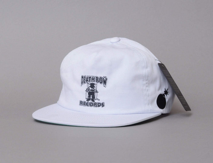The Hundreds Death Row Snapback White