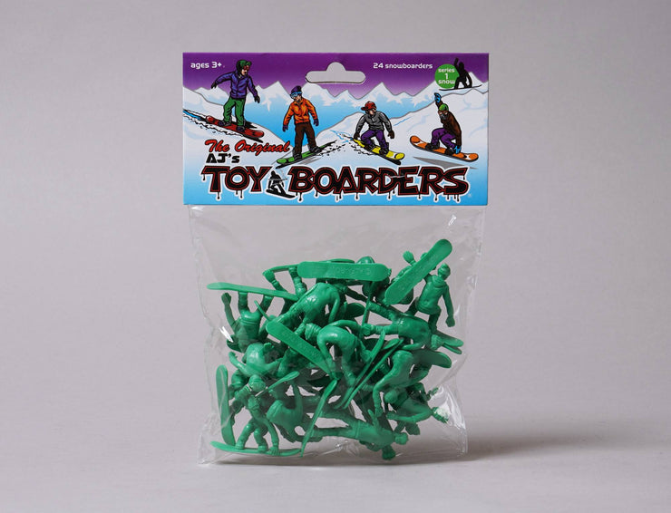 Accessories Random Toy Boarders Snow Series #1 Toy Boarders Toys / Green / One Size
