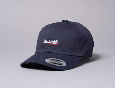 Cap Adjustable Humble Dad Cap Navy Turn Up Adjustable Cap / Blue / One Size