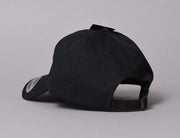 Turn Up TU066 Crust Dad Cap Black