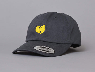 Wu-Wear WU009 Logo Dad Cap Dark Grey