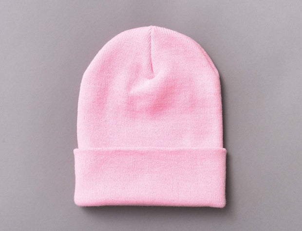 Flexfit Heavyweight Long Beanie 1501KC  Baby Pink