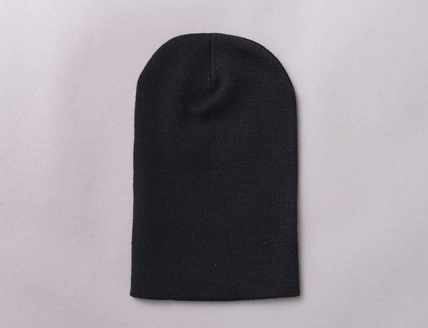 Flexfit Heavyweight Long Beanie 1501KC  Black