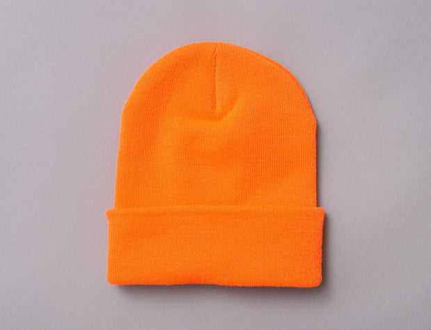 Flexfit Heavyweight Long Beanie 1501KC  Blaze Orange
