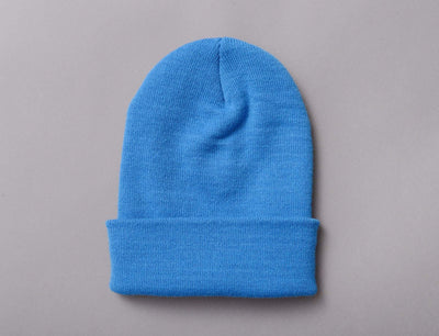 Flexfit Heavyweight Long Beanie 1501KC  CL Blue