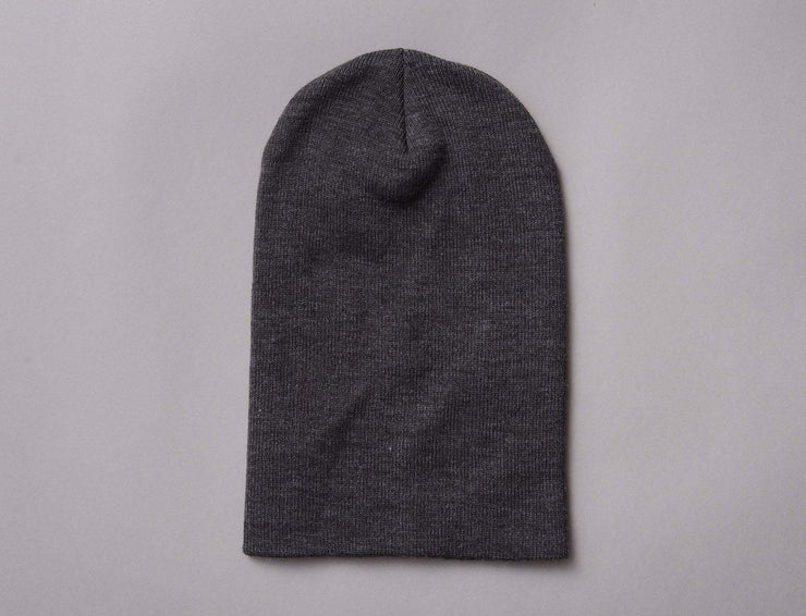 Flexfit Heavyweight Long Beanie 1501KC  Charcoal