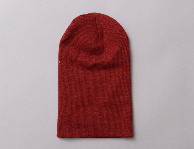 Flexfit Heavyweight Long Beanie 1501KC  Maroon