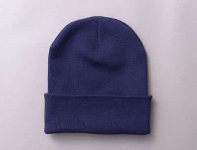 Flexfit Heavyweight Long Beanie 1501KC  Navy
