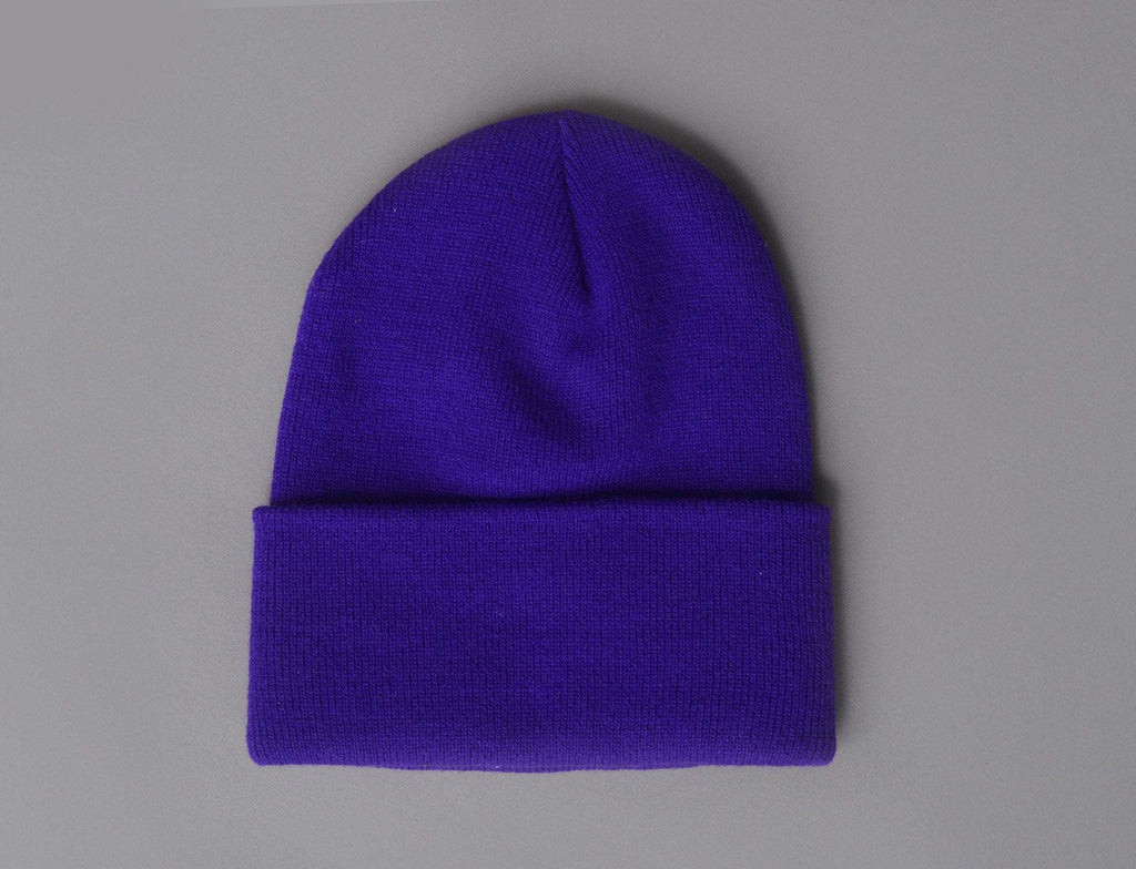 Flexfit Heavyweight Long Beanie 1501KC  Purple