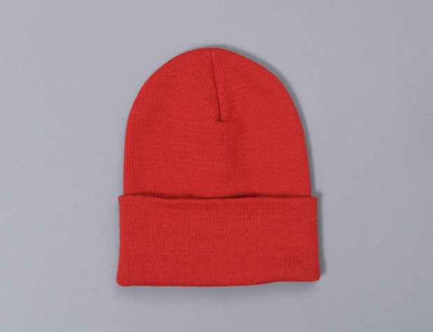 Flexfit Heavyweight Long Beanie 1501KC  Red