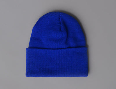 Beanie Cuff Flexfit Heavyweight Long Beanie 1501KC  Royal Blue Yupoong Cuff Beanie / Blue / One Size