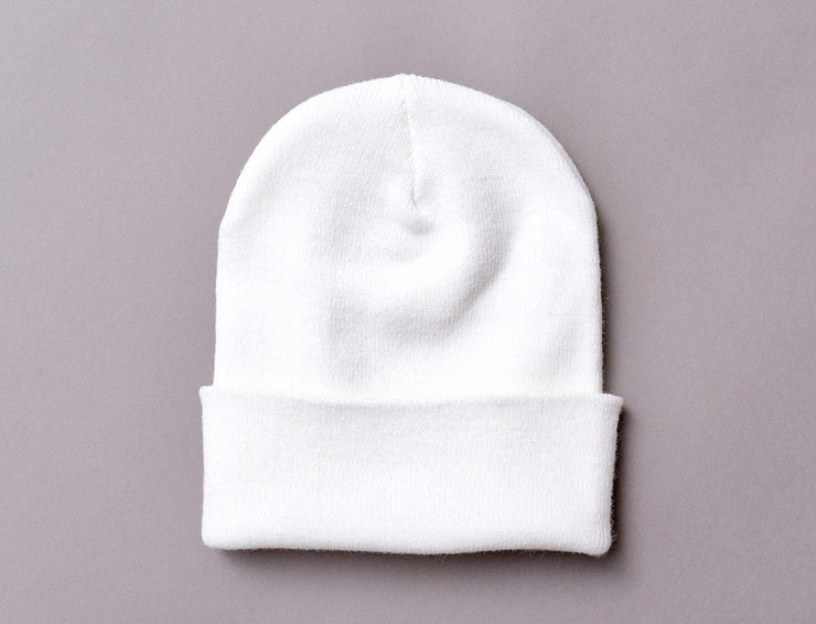 Flexfit Heavyweight Long Beanie 1501KC  White