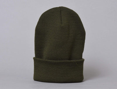 Flexfit Heavyweight Long Beanie 1501KC  Olive