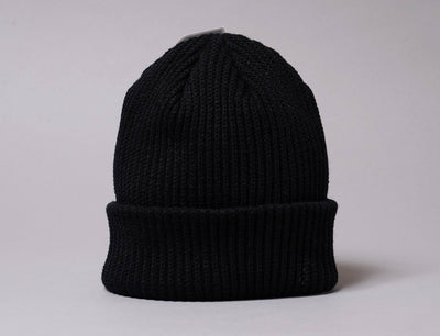 Beanie Fisherman Flexfit Rib Beanie Black 1502RB Yupoong Fisherman Beanie / Black / One Size