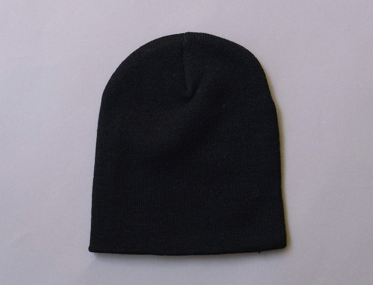 Beanie Skull Flexfit Heavyweight Beanie 1500KC  Black Yupoong Skull Beanie / Black / One Size