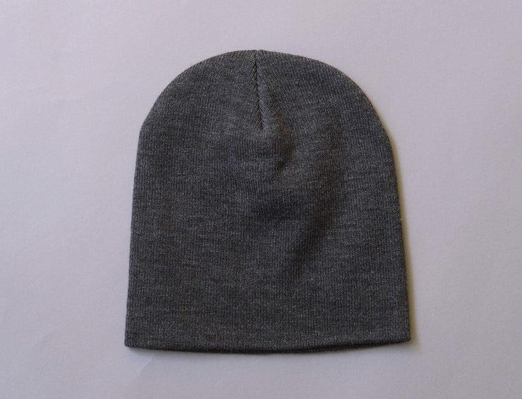 Beanie Skull Flexfit Heavyweight Beanie 1500KC  Charcoal Yupoong Skull Beanie / Grey / One Size