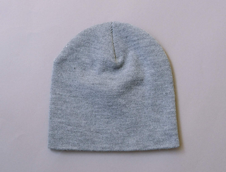 Beanie Skull Flexfit Heavyweight Beanie 1500KC  Heather Grey Yupoong Skull Beanie / Grey / One Size