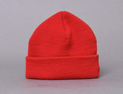 Beanie Skull Flexfit Heavyweight Beanie 1500KC Red Yupoong Skull Beanie / Red / One Size