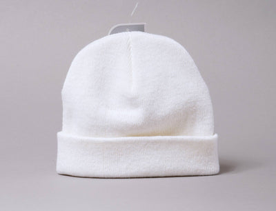 Beanie Skull Flexfit Heavyweight Beanie 1500KC White Yupoong Skull Beanie / White / One Size