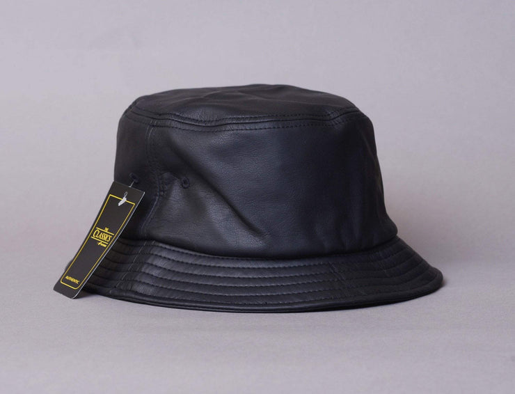 "Flexfit Bucket Black ""Leather"""