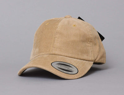Low Profile Corduroy Cap Flexfit 6245CD Khaki