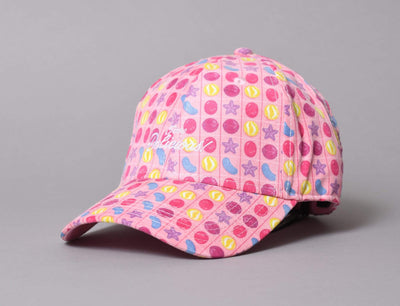 Cap Adjustable Soo Delicious Curved Cap Pink Yupoong Adjustable Cap / Pink / One Size