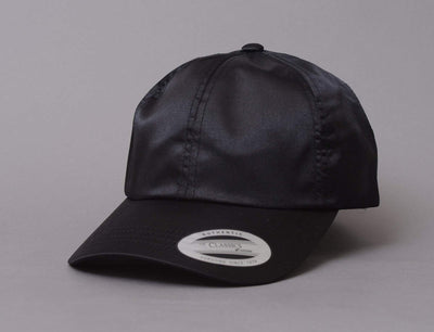 Flexfit 6245SC Low Profile Satin Cap 6245SC Black