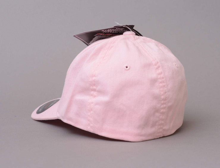 Cap Flexfit Flexfit 6997 Garment Washed Cotton Dad Cap Pink Yupoong