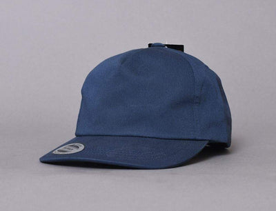 Yupoong 6502 Unstructured 5-Panel Snapback Cap Navy