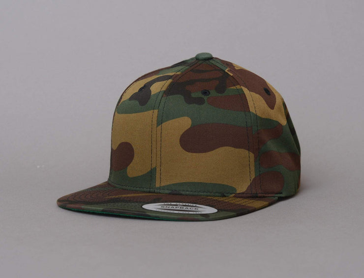 Cap Snapback Yupoong 6089CF Snapback All Over Camo Yupoong Snapback Cap / Camo / One Size