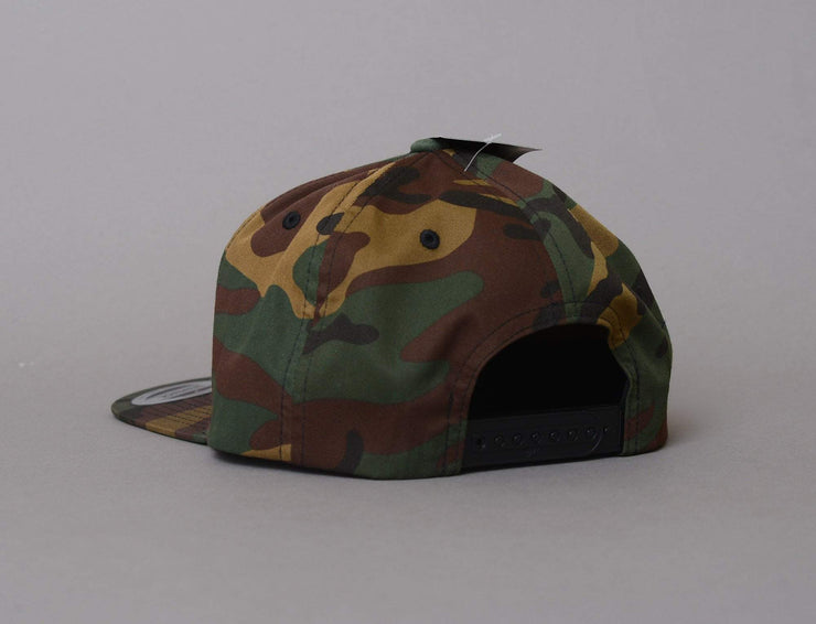 Yupoong 6089CF Snapback All Over Camo