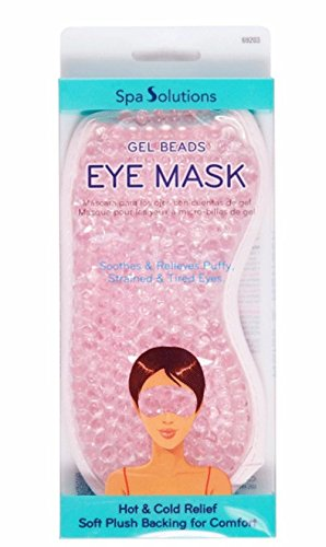 Cala Spa Solutions Gel Beads Eye Mask Pink