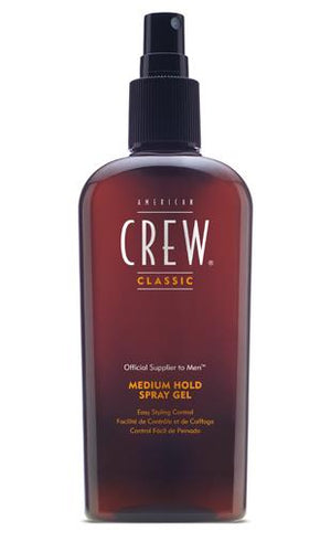 AMERICAN CREW Medium Hold Spray Gel 8.45 fl oz