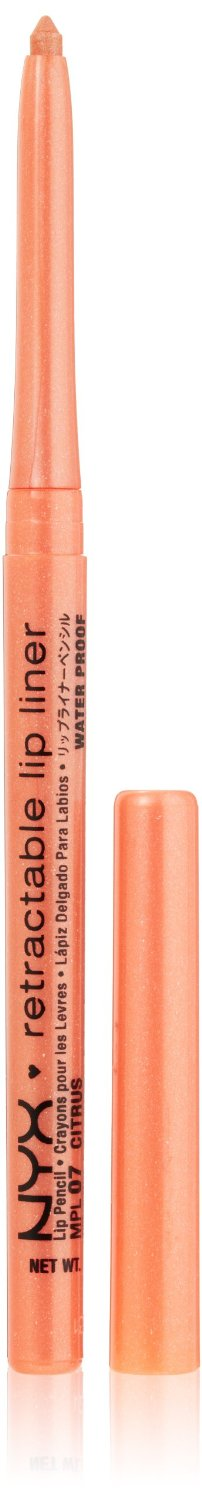 NYX Retractable Lip Liner CITRUS 0.01 oz.