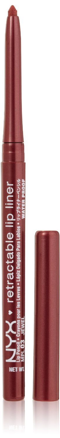 NYX Retractable Lip Liner JEWEL 0.01 oz.