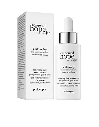 philosophy renewed hope in a jar renewing dew concentrate 1 fl oz