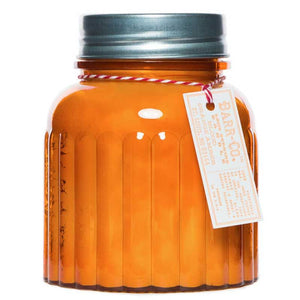 BARR-CO SOAP SHOP CANDLE BLOOD ORANGE AMBER 1