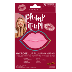 DANIELLE Creations perfect pout HYDROGEL LIP MASKS WITH CINNAMON COLLAGEN 5 MASKS