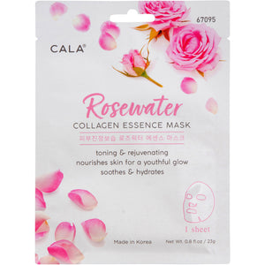 CALA Rosewater COLLAGEN ESSENCE MASK 1 sheet