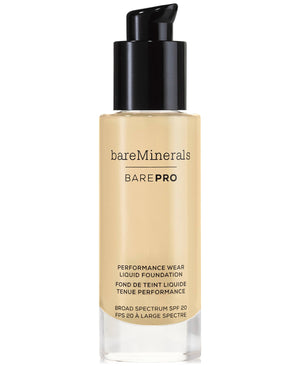 bareMinerals BarePro Performance Wear Liquid Foundation Golden Nude 1 fl oz