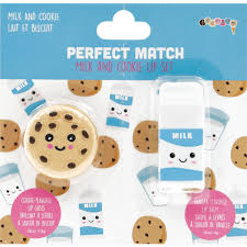 iscream PERFECT MATCH MILK AND COOKIE LIP SET