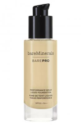 bareMinerals BarePro Performance Wear Liquid Foundation Natural 1 fl oz
